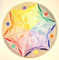 mandala color wheel by V-Babe007