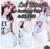 Pack Png De #4 Lali Esposito by alfonsina888