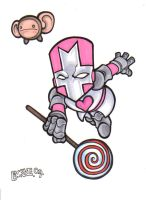 The Pink Knight by Burke73