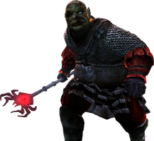 Orc Mage Render - Lord Of The Rings Conquest by Angelus23