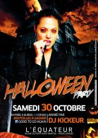 Halloween Party flyer by gar21nett