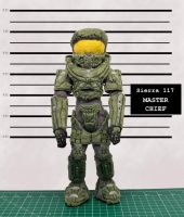 Master Chief Custom Plush by SnuggleFactory