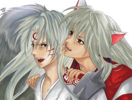 Inuyasha by sapphy07