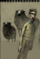 George+sheep by troutfishing