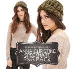 Anna Christine Speckhart Png Pack by sugarsweetmiracles
