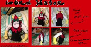 Lord Hater Plushie by XxMoonlight-1-WishxX