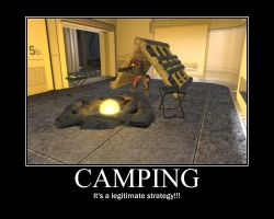 Camping-Motivation by Kaboose54