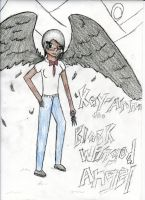 Kay-Anna, the Black winged Angel by BlackArrow14
