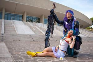 Caius Ballad and Yeul Cosplay - FFXIII-2 by Leon C by LeonChiroCosplayArt