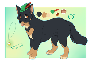 Pan Reference (SECOND FURSONA) by Maonii