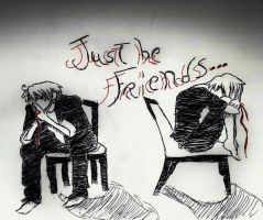 [aph] Just be Friends by Saiyuumi
