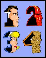 The Fantastic Four!! by CJJennings