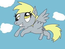 My Little Derpy by SkunkyRainbow270