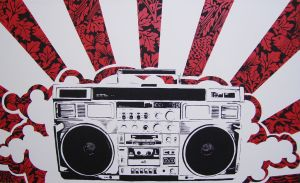 boombox by zachcherry