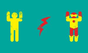 Minimal Kid flash by biotwist