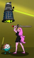 Dalek At Midnight by richardnixon1968