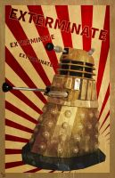 Dalek Poster by BS4711