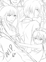 Magi Countdown Sketch by Ezyn