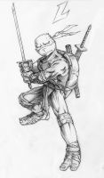 Leonardo by Alex-Dream-Drawer