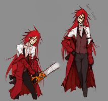 Grell Sutcliff 2 by TheLanguidClown