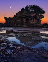 Tanah Lot Reworked by Draken413o