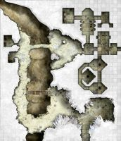 Arkay Salt caverns - Area 2 - Great Salt Cavern by dasomerville