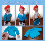 Crochet Tintin Doll by kamijo