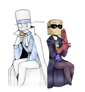 [PaperHat Request 2]: Ice Creams by owoSesameowo