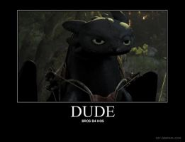 HTTYD Demote - Dude by kathy-vicki
