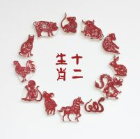 Chinese Zodiac Rubber Stamps by EvelynY