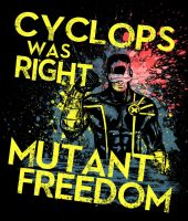Cyclops Was Right by artistjerrybennett