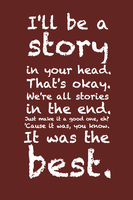 Story in your head. by inkandstardust