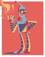 Bender the Great by Vandyked