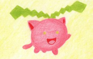 PAA 003 - Quick Drawing: Hoppip by Elythe
