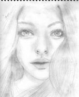 amanda seyfried drawing by nickikay