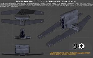 SFS Nune-class shuttle ortho [New] by unusualsuspex