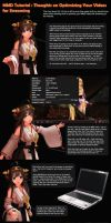 MMD Tutorial Video Render Considerations by Trackdancer
