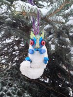 Baby Dragon Ornament by reptiviteknight