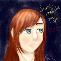 First try: Semi-realistic! by NayKiler
