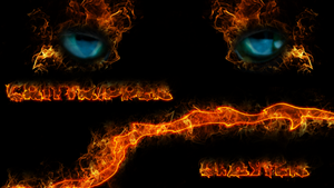The burning Eyes... by Crittripper
