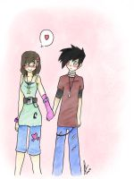 Hold my Hand...Danny by yuminica