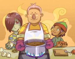 FFI-OC: Cooking Time by Card-Queen