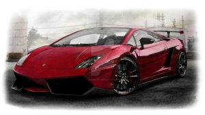 Lamborghini Gallardo by LOLLIPOP007