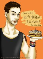 Happy Birthday Shanimal - 2011 by VincentChan