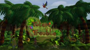 Totem Trouble title screen by Teh-Scotty