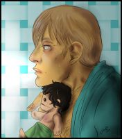 Hannibal - Afterbath with Chibi Will by FuriarossaAndMimma