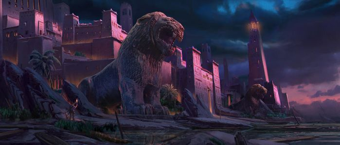 Tigercity by Rudy Parfaite by SkeletonCrewArt
