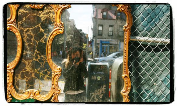 NYC mirror by LadyFlawa