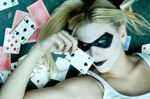 Harley - Poker Face by LilywhiteBlack