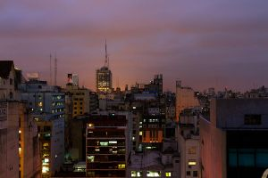 Buenos Aires Skyline by Andoarts